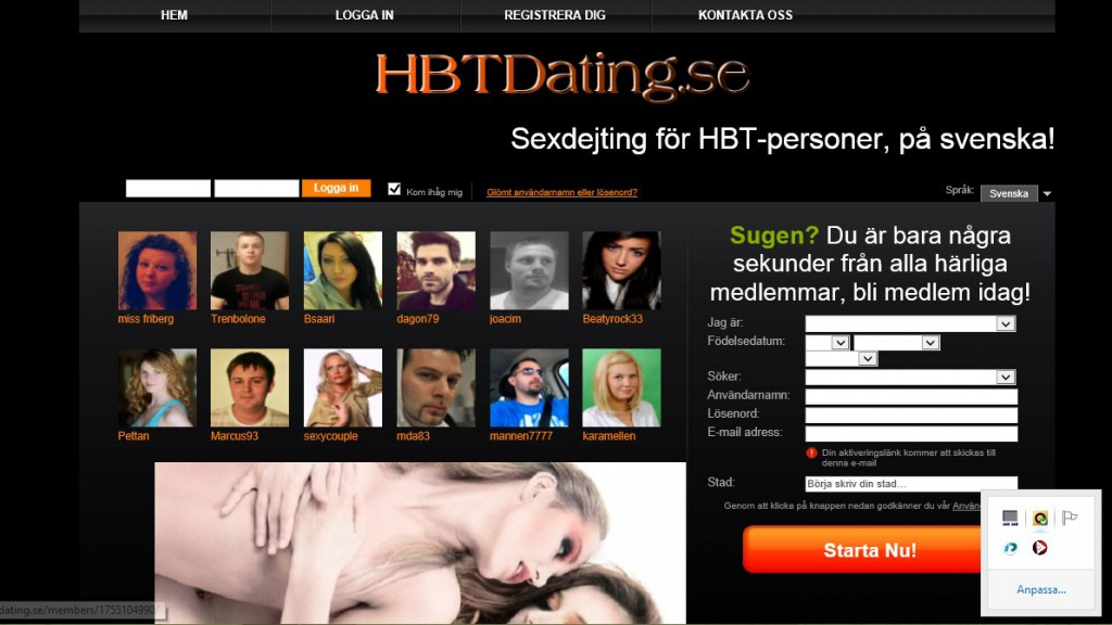 gratis dating chat damer som kliner