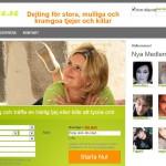 bbwdate.se - dejtingsidan för alla överviktiga män och kvinnor.