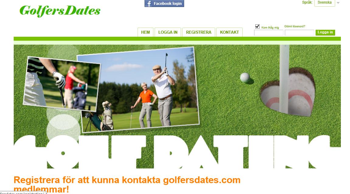 Nätdejting golf